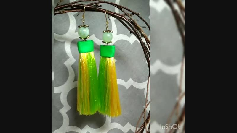 😍Плоские кисточки для тех кто любит яркие цвета 💛💚💙Крупные, яркие и заметные – они словно созданы для весны и лета!🌅  💃👖👙👚Так