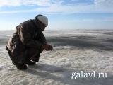 Плотва и окунь на безнасадку, безмотылку.  Закрытие сезона 2013 на Рыбинском.