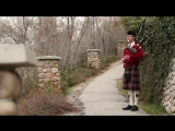 Danny Boy played on the bagpipes