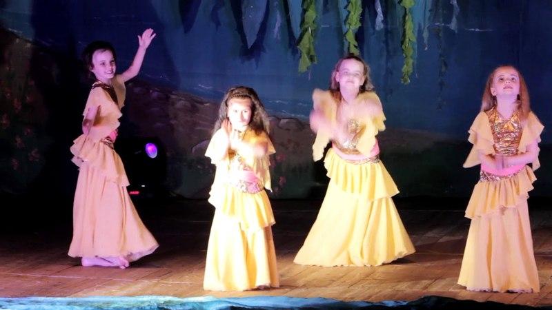 Школа восточного танца Бисер - Начинающий состав беби, дети, юниоры