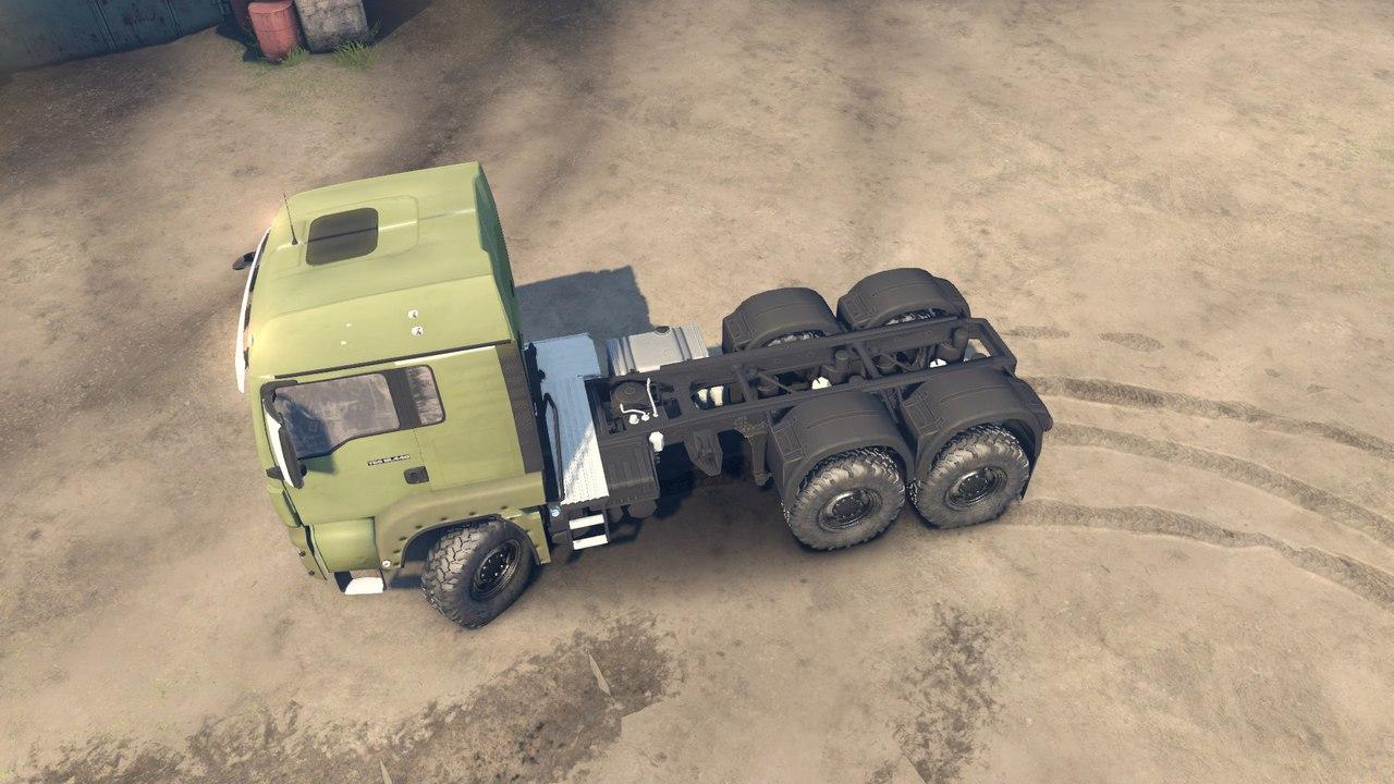 MAN 12.5L для Spintires - Скриншот 1