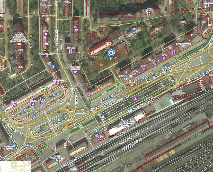 КИРОВ   Градостроительство