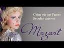 Mozart: Gehn wir im Prater, Secular Canons