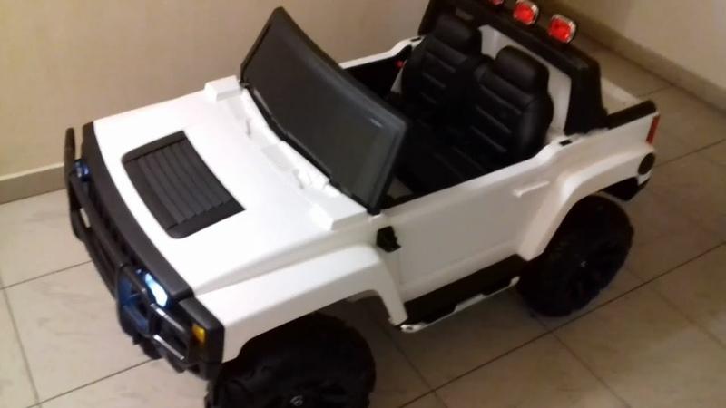 Распаковка и Сборка Детский Электромобиль Hummer H2 A777MP