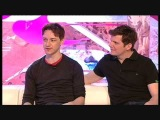 Nigel Harman &amp James McAvoy on T4