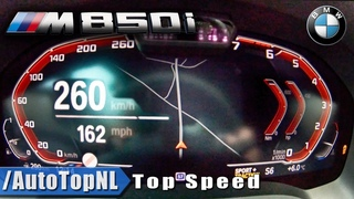 BMW M850i xDrive ACCELERATION & TOP SPEED 0-260KMH / 0-162MPH LAUNCH CONTROL by AutoTopNL