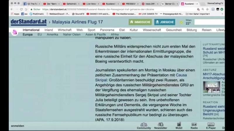 AKTUELL- Russland liefert Beweise das MH17 durch Ukraine abgeschossen wurde--