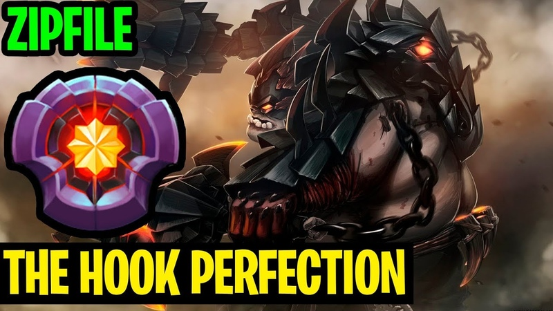 The Hook Perfection Is Here With Pudge Zipfile - Dota 2