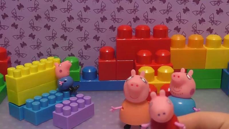 Куклы Пупсики: Открываем Огромный Сюрприз и много сюрпризов в Куклой Игрушкой Свинкой Пеппой