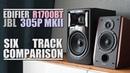 JBL 305P MKII vs Edifier R1700BT || 6-Track Comparison
