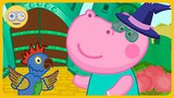 Гиппо Сказки - Волшебник Изумрудного города Новые друзья Гиппи и битва с Драконом на Kids PlayBox
