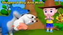 The Boy and the Wolf Moral Stories Cartoon Story for Children English Fairy Tales