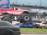 Red Dragon monster truck in Estonia   12  may 2012
