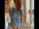 ❤️ Ты точно захочешь купить это мегастильное платье! - имеет пояс с сумочкой Modnica-shop