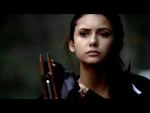 The Vampire Diaries Elena Fights