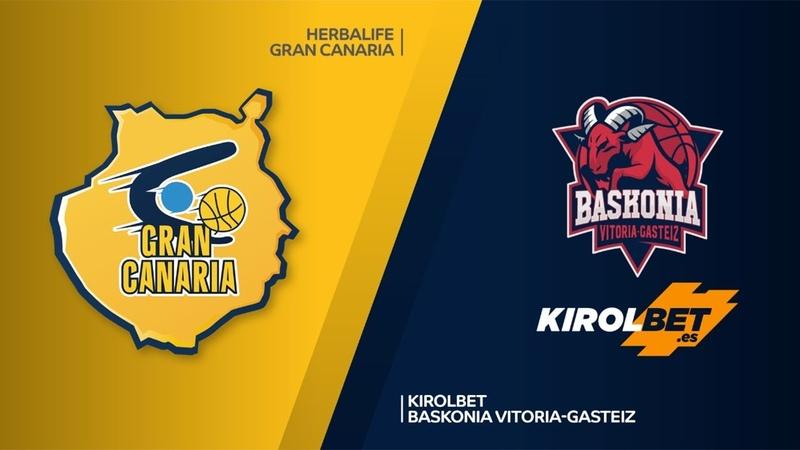Herbalife Gran Canaria - KIROLBET Baskonia Vitoria-Gasteiz Highlights | EuroLeague RS Round 13