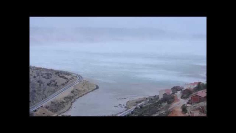 Ciklona Rea - spektakularna bura u Velebitskom kanalu