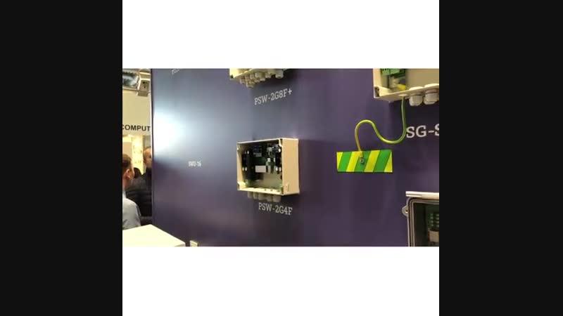 Выставка All Over Ip 2018 - Стенд компании TFortis alloverip alloverip2018 видеонаблюдение nabludatel23 dahuatechnology e