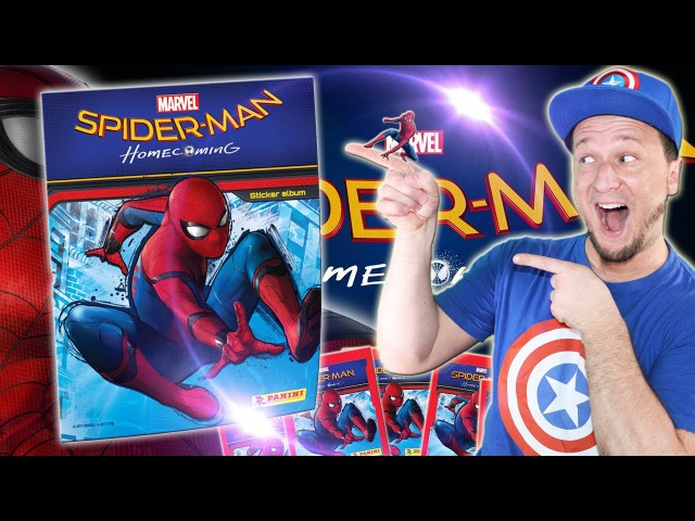 Spiderman Homecoming Deutsch | Panini Sticker Unboxing by BenMasterful