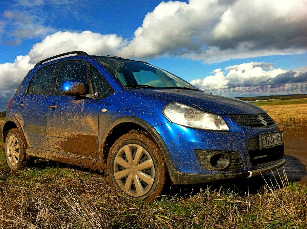 Suzuki SX4 и бездорожье