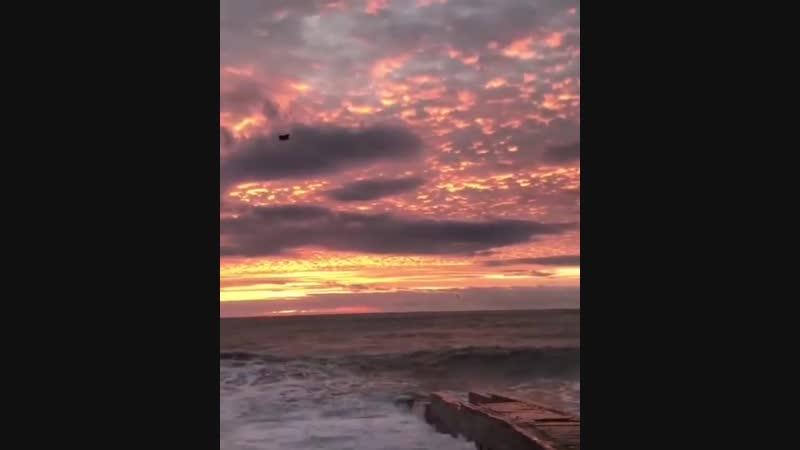 Закат в Сояи