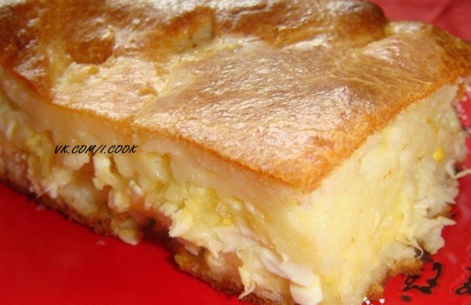 Пирог с майонезом простой рецепт
