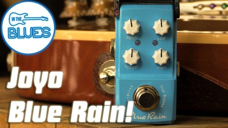 Joyo Blue Rain Overdrive Pedal