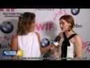 Интервью Зои на мероприятии Women In Film совместно с Crystal Lucy Awards 14.06.2017