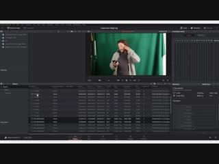 DaVinci Resolve уроки- окно Project manager, экспорт файла проекта в drp, настройки альфа-канала