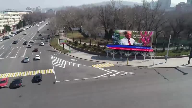 Алматы жастары ҚР Тұңғыш Президенті Нұрсұлтан Назарбаевты қолдап үндеу жолдады