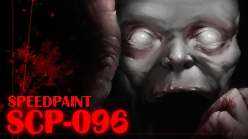 SCP 096 Speedpaint art by Egor H8