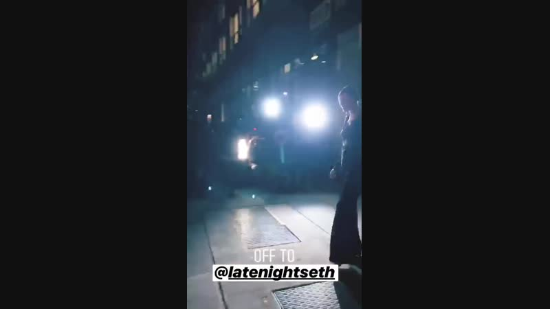 Кейт на Late Night with Seth Meyers (6.12.2018)