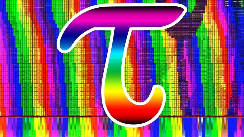 Black MIDI Tau τ 6 28 MILLION 6 283 185 ~ HDSQ Piano from Above