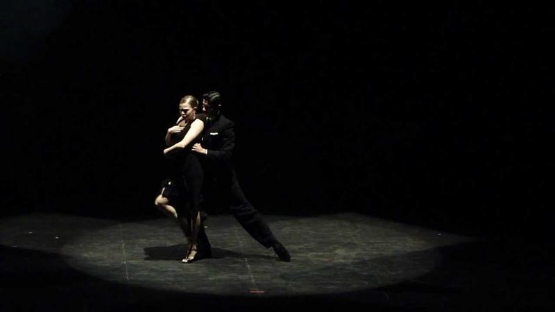 Reina del Plata parte 1 Compañia de Tango del IUNA Director Leonardo Cuello