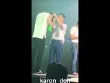 180810 Exo`s Chanyeol , Kyungsoo and Kai fancam
