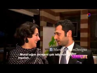 Murat Yildirim Ve Meltem Cumbul at16th International Istanbul Film festival