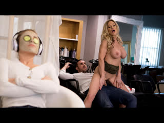 Tyler faith - sneaking in a last minute facial [brazzers. big tits, blonde, milf]
