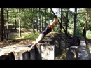 Training in the woods 2