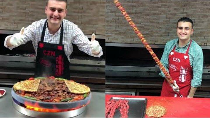 Посмотри ! Как классно он готовить / Турецкий повар Бурак Оздемир / Czn Burak
