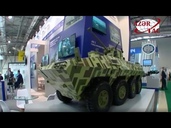"""Prezident İlham Əliyev ADEX 2018"""" üçüncü Azərbaycan Beynəlxalq müdafiə sərgisi ilə tanış olub"""
