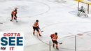 GOTTA SEE IT: Flyers Blow 3-On-0 Carter Hart Misplays Puck For Canucks Goal