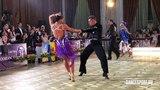 Artem Efanin - Anna Dergunova RUS   WDSF World Open Latin - Jive
