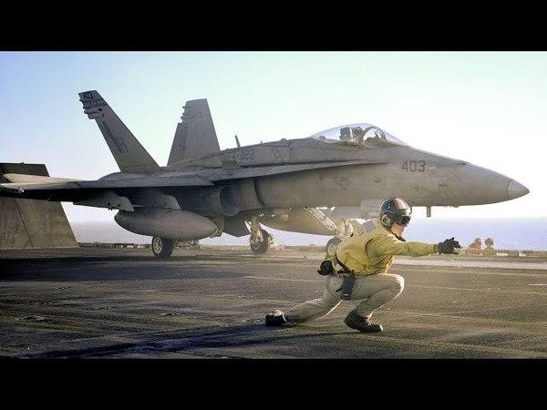 F-18 «HORNET» палубный истребитель - бомбардировщик