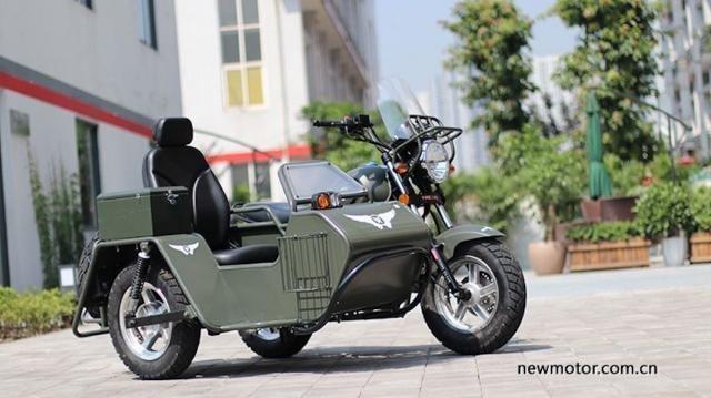 Минибайк Jingang YG150B-23 с коляской