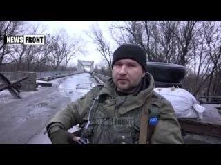ЛНР. Украинские каратели подложили взрывчатку в машину мирному жителю