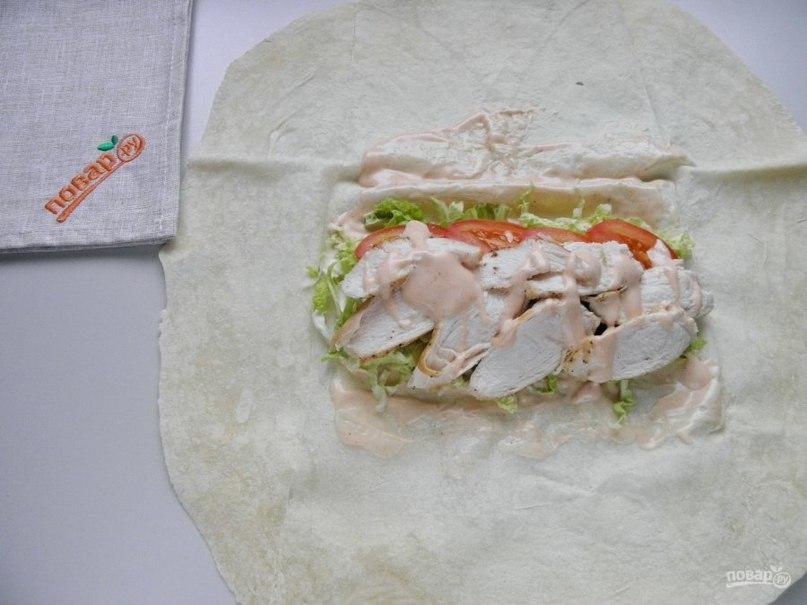 Шаверма рецепт классический с фото