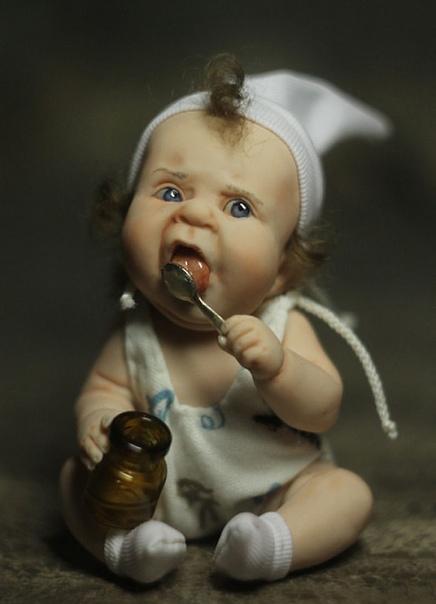Глядя на кукол, созданных талантливой художницей Еленой Кириленко, не улыбнуться просто невозможно.
