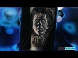 10 реально страшных татуировок французского мастера Eliot Kohek на видео