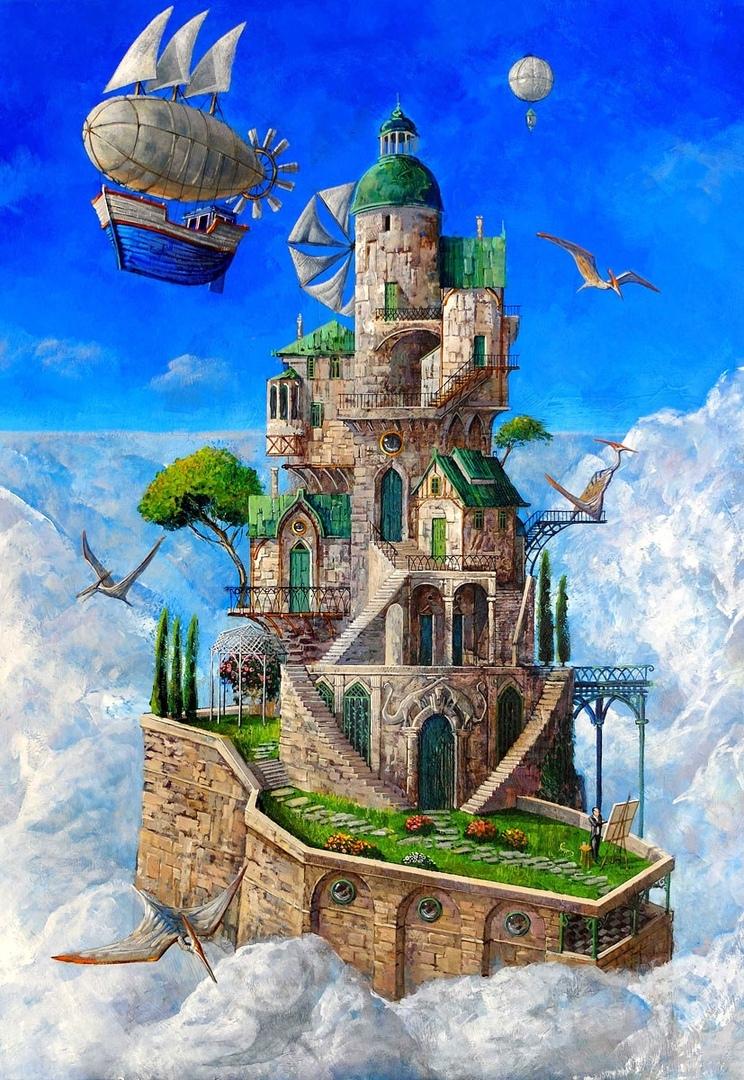 Сказочные картинны Roch Urbaniak