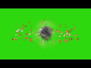 Subscribe Buttons Exploding #1 [Fundo Verde - Green Screen]